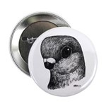 "Stettiner Shortface Pigeon 2.25"" Button (100"