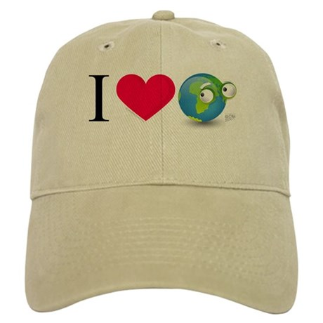 I Love Earth t-shirt Cap