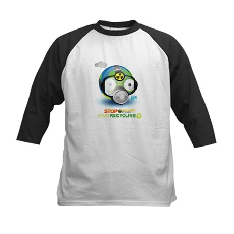 I Love Earth t-shirt Kids Baseball Jersey