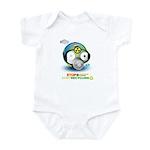 I Love Earth t-shirt Infant Bodysuit