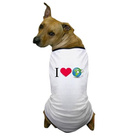 I Love Earth t-shirt Dog T-Shirt