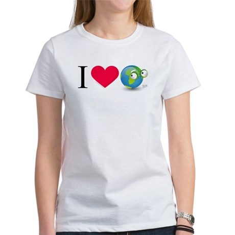 I Love Earth t-shirt Women's T-Shirt