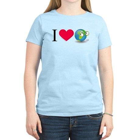 I Love Earth t-shirt Women's Light T-Shirt
