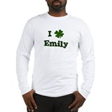 I Shamrock Emily Long Sleeve T-Shirt
