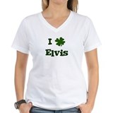 I Shamrock Elvis Shirt