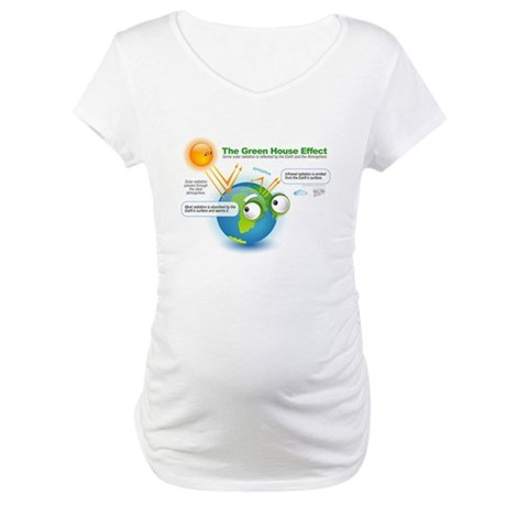 The Green House Effect Maternity T-Shirt