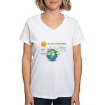The Green House Effect Women's V-Neck T-Shirt