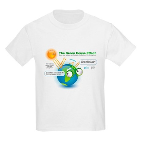 The Green House Effect Kids Light T-Shirt