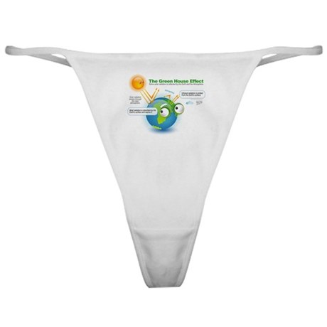 The Green House Effect Classic Thong