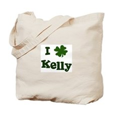 I Shamrock Kelly Tote Bag