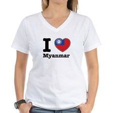 I love Myanmar Shirt