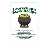 Leprechaun Stew Recipe Postcards (Package of 8)