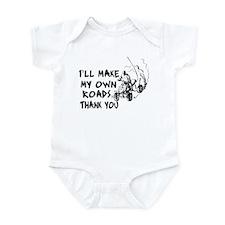 Make My Own Roads Infant Bodysuit