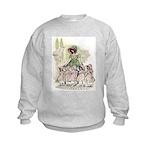 FIVE PRETTY MAIDS IN A ROW Kids Sweatshirt