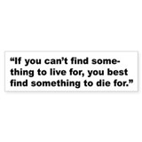 Rap Culture Live Die Quote Bumper Bumper Sticker