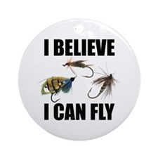 I Believe I Can Fly Ornament (Round)