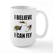 I Believe I Can Fly Large Mug