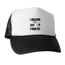 I Believe I Can Fly Trucker Hat