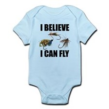 I Believe I Can Fly Infant Bodysuit