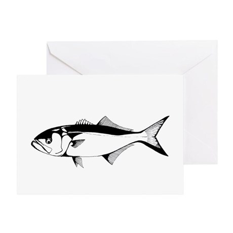 bluefish Greeting Card