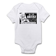 Be An Artist Infant Bodysuit