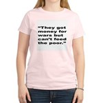Rap Culture Anti-War Quote (Front) Women's Light T