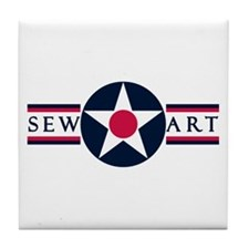 Sewart Air Force Base Tile Coaster