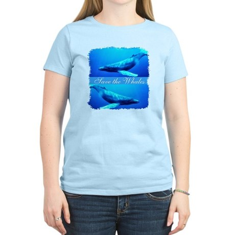 Save the Whales Women's Light T-Shirt