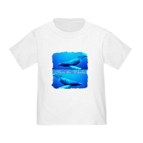 Save the Whales Toddler T-Shirt