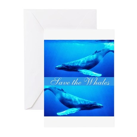 Save the Whales Greeting Cards (Pk of 20)
