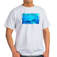 Save the Whales Light T-Shirt