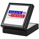 Smart Sexy Obama Keepsake Box