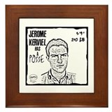 """Jérôme Kerviel Has A Posse"" Framed Tile"