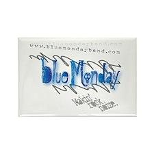 Blue Monday Rectangular Magnet