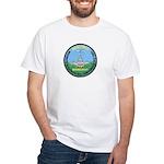 DEA D.C. Airports White T-Shirt