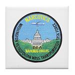 DEA D.C. Airports Tile Coaster