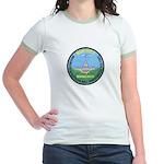 DEA D.C. Airports Jr. Ringer T-Shirt