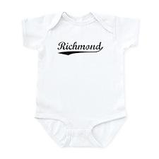 Vintage Richmond (Black) Infant Bodysuit
