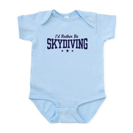 I'd Rather be Skydiving Infant Bodysuit