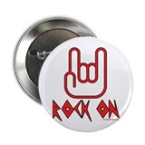 "Rock On 2.25"" Button (10 pack)"