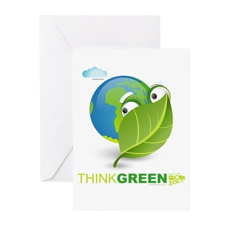 Think Green Greeting Cards (Pk of 10)