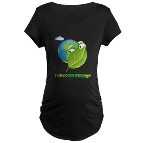 Think Green Maternity Dark T-Shirt