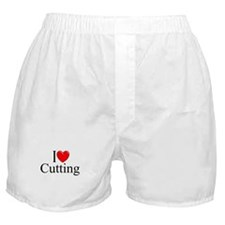"""I Love Cutting"" Boxer Shorts"