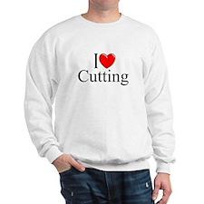 """I Love Cutting"" Sweatshirt"