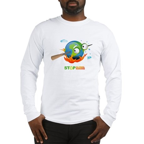 Earth Skewer Long Sleeve T-Shirt