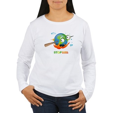 Earth Skewer Women's Long Sleeve T-Shirt