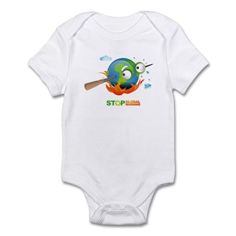Earth Skewer Infant Bodysuit