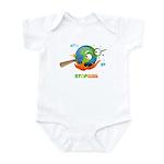 Earth Skewer Infant Bodysuit
