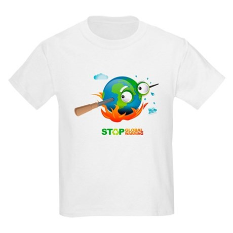 Earth Skewer Kids Light T-Shirt