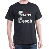 Swim Coach Heart T-Shirt